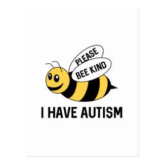 I Have Autism Postcard