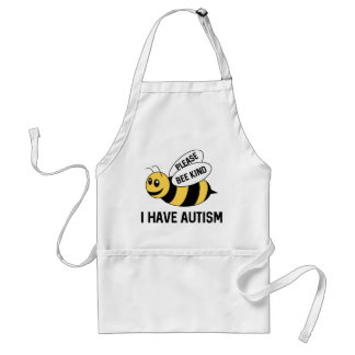 I Have Autism Standard Apron