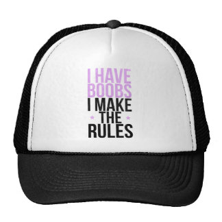 I have boobs I make the rules Cap