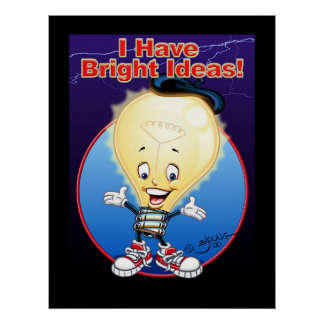 I Have Bright Ideas! Poster