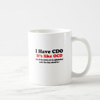 i have cdo classic white coffee mug