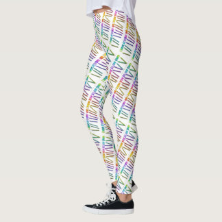 I HAVE CRAYONS AND I KNOW HOW TO USE THEM! LEGGINGS