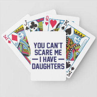 I Have Daughters Bicycle Playing Cards
