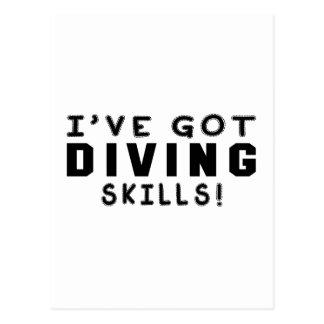 I Have Got Diving Skills Postcard