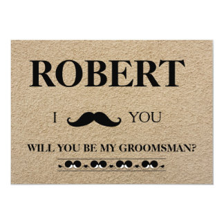 I have got the girl will you be my Groomsman? Card