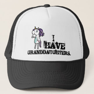 I HAVE GRANDDAUGHTERS TRUCKER HAT