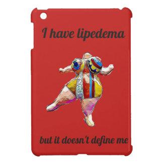 """""""I have lipedema"""" iPad red cover iPad Mini Cases"""