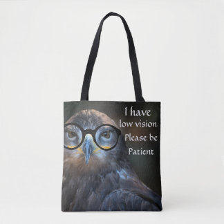 I have low vision please be patient bag