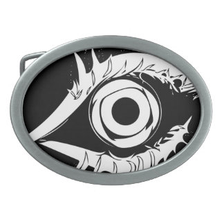 I have my eye on you #1 oval belt buckle