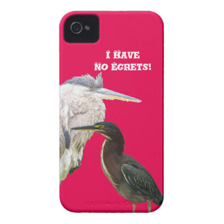 I Have No Egrets! Case-Mate iPhone 4 Case