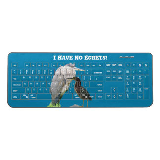 I Have No Egrets! Wireless Keyboard
