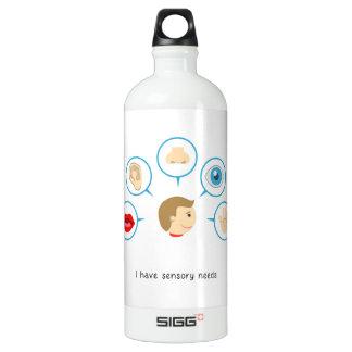 I have sensory needs - 1L water bottle
