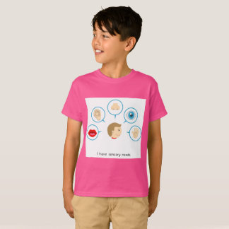 I Have Sensory Needs - Kid's T-Shirt (Pink)