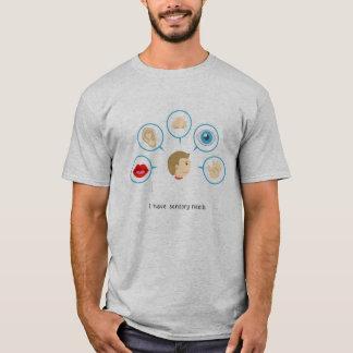 I Have Sensory Needs - Men's T-Shirt (Grey)
