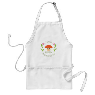 I Have So Mushroom In My Heart For You Pun Humor Standard Apron