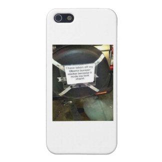 I Have Taken My Barack Obama bumper sticker off Case For The iPhone 5
