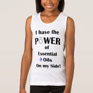 I have the Power of Essential Oils on My Side! Singlet