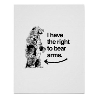 I HAVE THE RIGHT TO BEAR ARMS PRINT