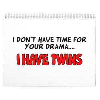I have Twins Calendar