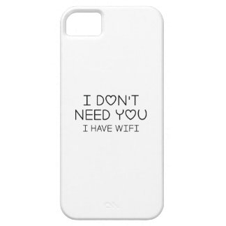 I Have Wifi iPhone 5 Covers
