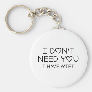 I Have Wifi Key Ring