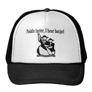 I Hear Banjos Trucker Hat