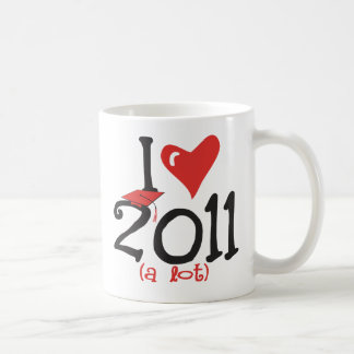 I heart 2011(a lot) - Senior Class of 2011 Mug