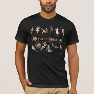 I Heart a Victor Russell Girl Tee FOR MEN