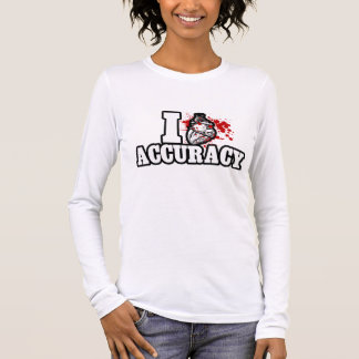 I Heart Accuracy Long Sleeve T-Shirt