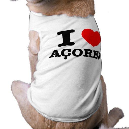I heart Acores Pet Clothes