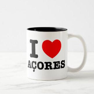 I heart Acores Coffee Mug