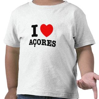 I heart Acores T-shirts