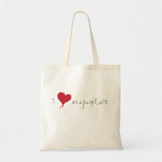 I Heart Acupuncture Tote Bag
