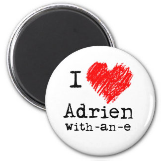 I heart Adrien-with-an-e magnet