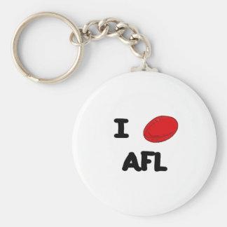 I heart AFL Key Ring