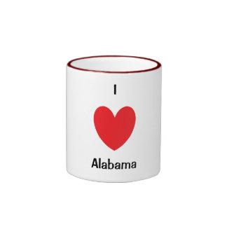I Heart Alabama Mug