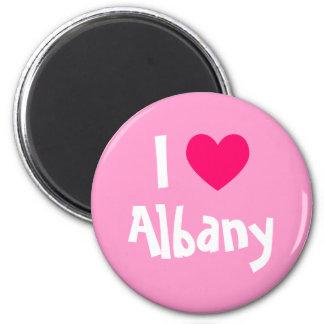 I Heart Albany 6 Cm Round Magnet