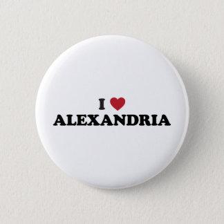 I Heart Alexandria Egypt 6 Cm Round Badge