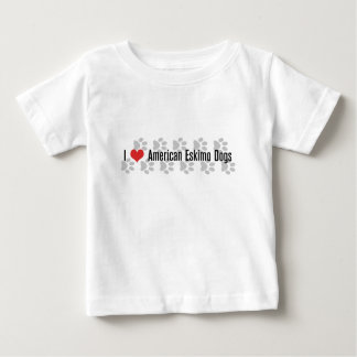 I (heart) American Eskimo Dogs Baby T-Shirt