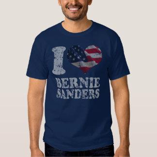 I Heart American Flag Bernie Sanders Tshirt