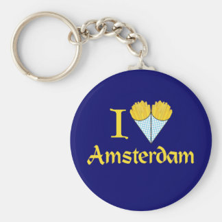 I Heart Amsterdam Key Ring