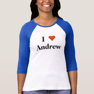 I Heart Andrew T-Shirt