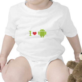 I heart Android Romper