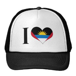 I Heart Antigua and Barbuda - I Love Antigua Cap
