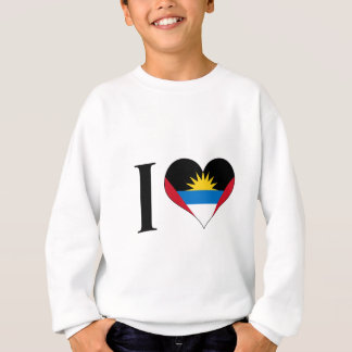 I Heart Antigua and Barbuda - I Love Antigua Sweatshirt