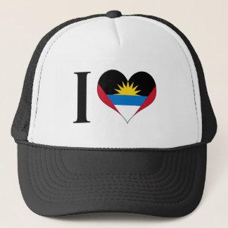 I Heart Antigua and Barbuda - I Love Antigua Trucker Hat