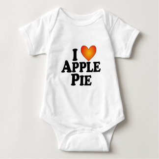 I (heart) Apple Pie - Lite Multi-Products Baby Bodysuit