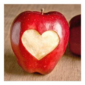 I Heart Apples Art Photo