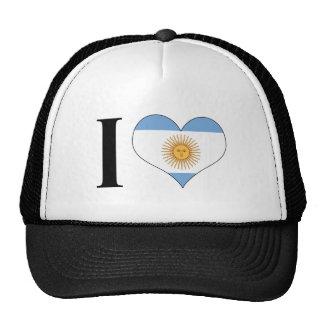I Heart Argentina - I Love Argentina - Argentinian Cap