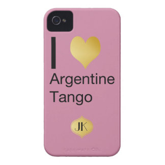 I Heart Argentine Tango iPhone 4 Cases